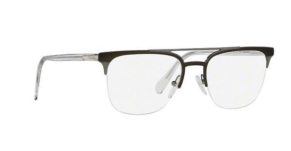 PRADA Prada Herren Brille » PR 63UV«, schwarz, 1AB1O1 - schwarz