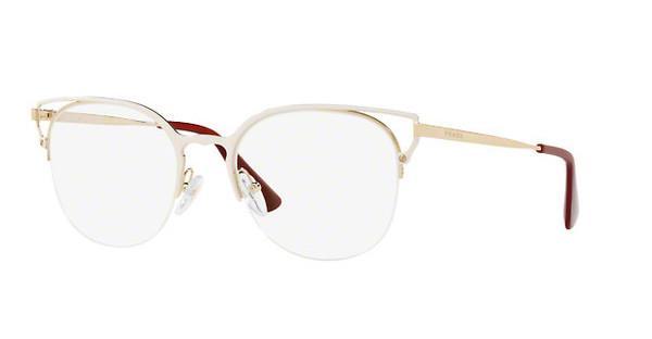 PRADA Prada Damen Brille » PR 64UV«, weiß, LFB1O1 - weiß