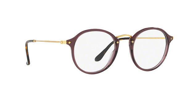 RAY BAN RAY-BAN Brille »Round RX2447V«, braun, 8032 - braun