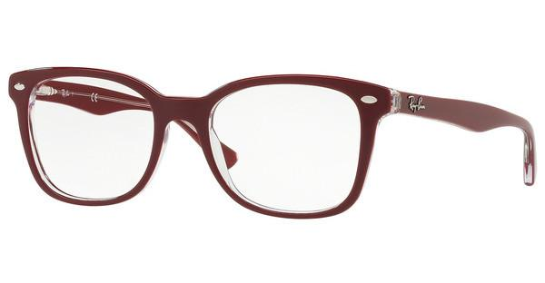 Ray-Ban   RX5285 5738 TOP BORDEAUX ON TRASPARENT