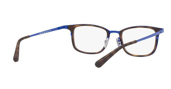 RAY BAN RAY-BAN Herren Brille » RX6373M«, blau, 2955 - blau