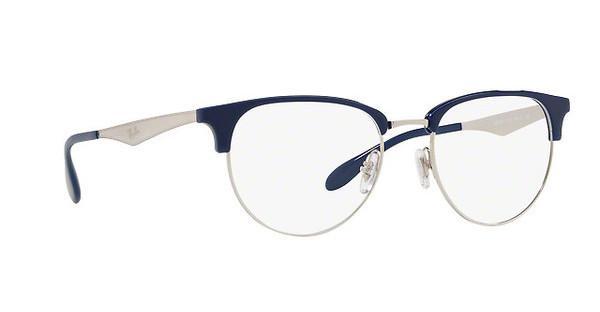 RAY BAN RAY-BAN Herren Brille » RX6396«, blau, 5785 - blau