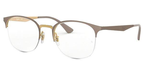 Ray-Ban   RX6422 3005 GOLD ON TOP MATTE BEIGE