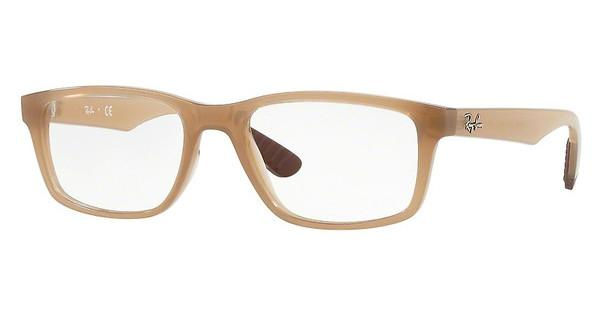 Ray-Ban   RX7063 8018 TRASPARENT BEIGE