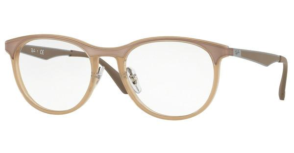 Ray-Ban   RX7116 8018 TRASPARENT BEIGE