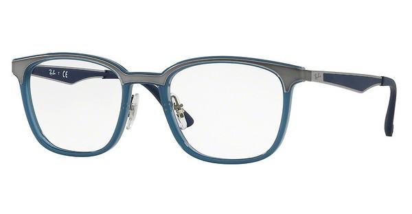 Ray-Ban   RX7117 8019 TRASPARENT LIGHT BLUE