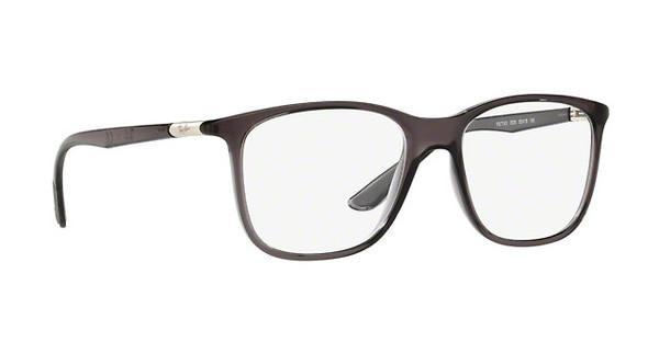 RAY BAN RAY-BAN Brille » RX7143«, schwarz, 2000 - schwarz