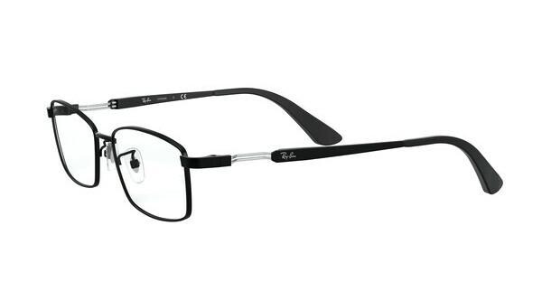 RAY BAN RAY-BAN Herren Brille » RX8745D«, schwarz, 1074 - schwarz