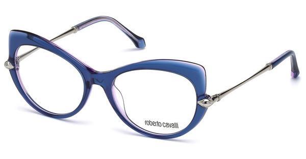 roberto cavalli Roberto Cavalli Damen Brille » RC5057«, blau, 090 - blau