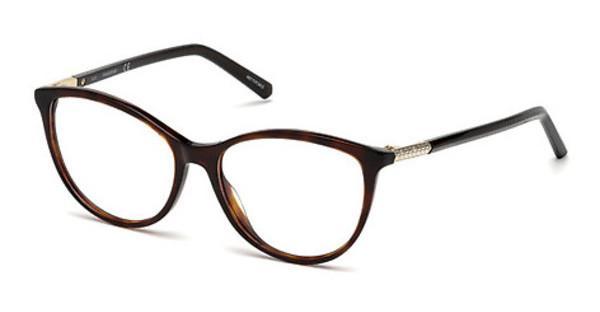 Swarovski Damen Brille » SK5238«, braun, 052 - braun