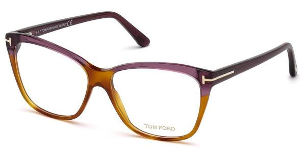 Tom Ford Damen Brille » FT5512«, braun, 056 - braun