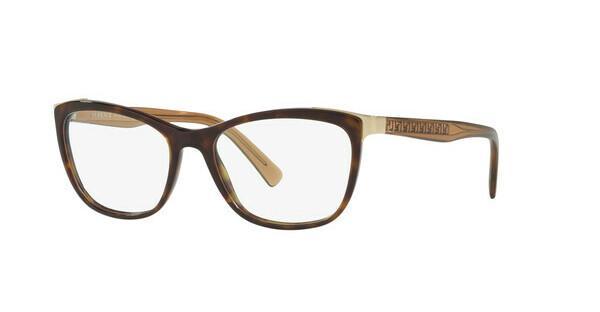 Versace Damen Brille » VE3255«, braun, 108 - braun