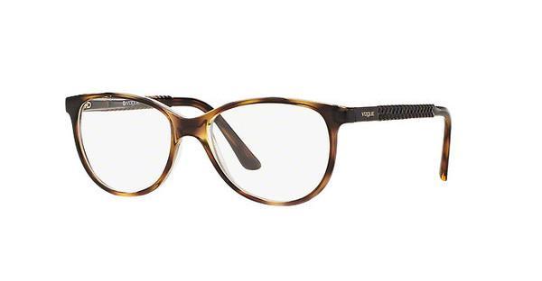 VOGUE Vogue Damen Brille » VO5213«, braun, W656 - braun
