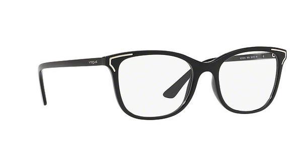 VOGUE Vogue Damen Brille » VO5214«, schwarz, W44 - schwarz