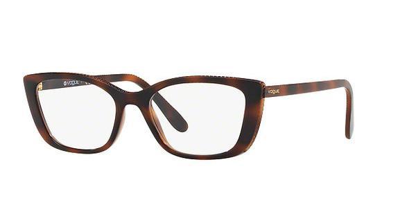 VOGUE Vogue Damen Brille » VO5217«, braun, 2386 - braun