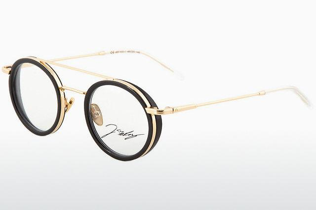 Stabil Grösse M Brillen-fassung Brille Aus Metall In Braun Mit Kleinen Gläsern Brillenfassungen