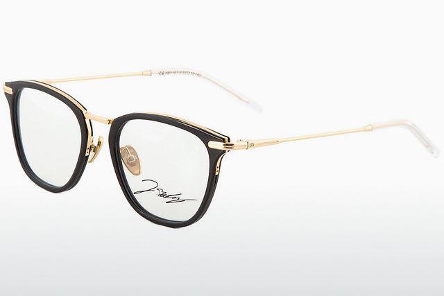 Brille Kunststoffbrille Damenfassung Occhiali Günstig Blau-schwarz Grösse M Augenoptik