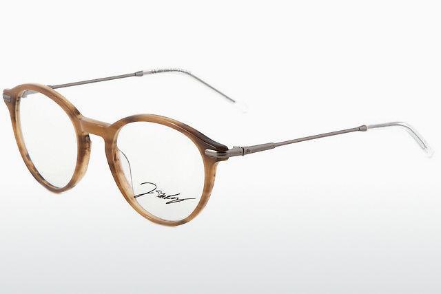 Kleidung & Accessoires Stabil Grösse M Brillen-fassung Brille Aus Metall In Braun Mit Kleinen Gläsern Damen-accessoires