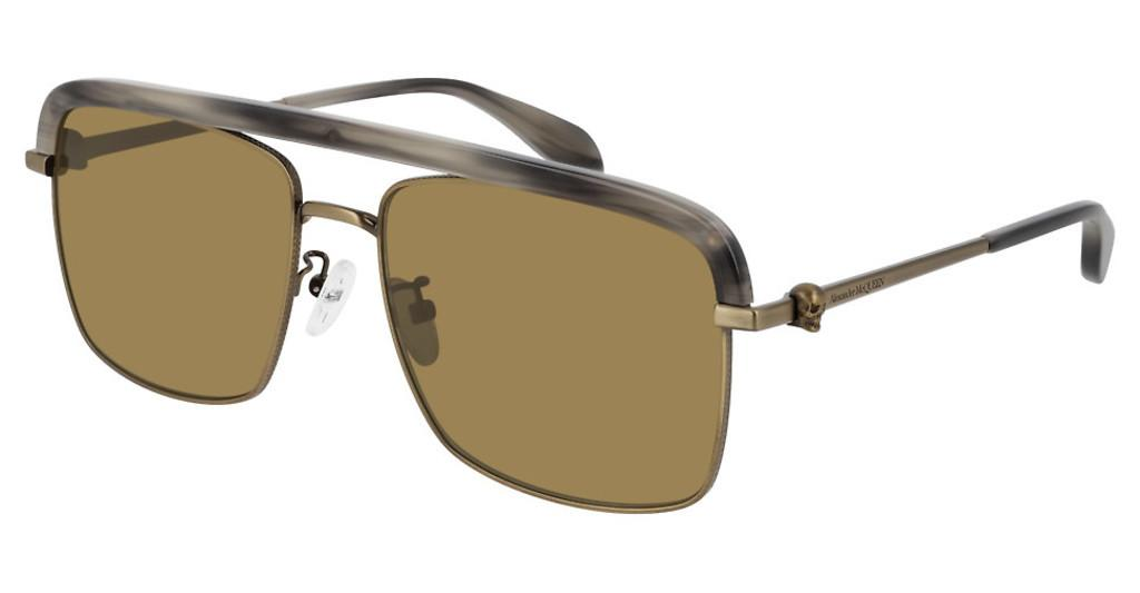 Alexander McQueen   AM0258S 003 BROWNBRONZE