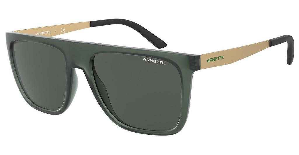 Arnette   AN4261 258587 DARK GREYMATTE TRANSPARENT GREEN