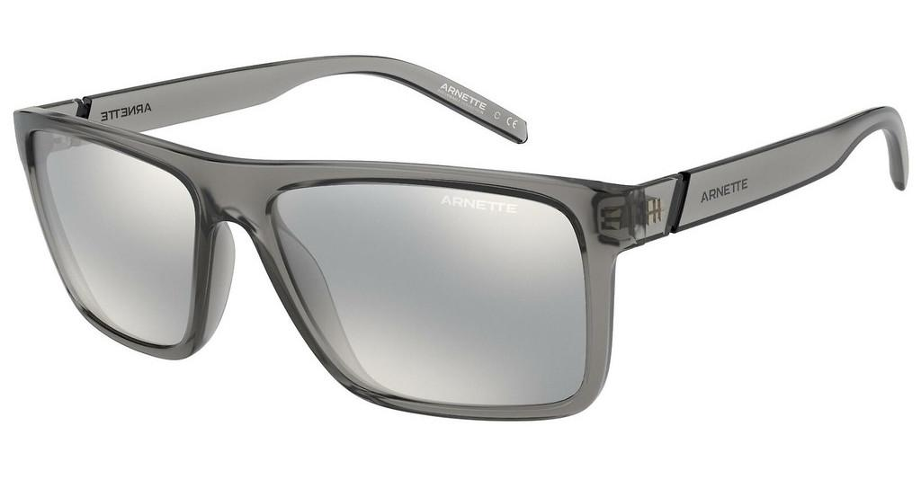 Arnette   AN4267 2590Z6 LIGHT GREY MIRROR SILVER 80SHINY TRANSPARENT GREY