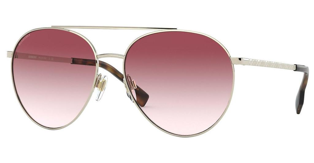 Burberry   BE3115 11098D CLEAR GRADIENT PINKPALE GOLD