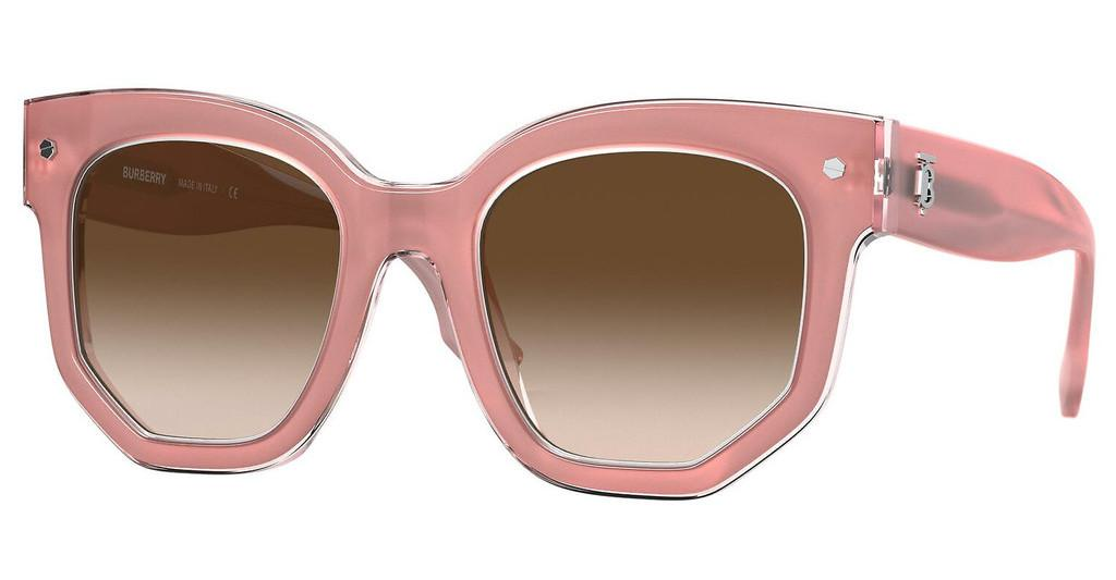Burberry   BE4307 384713 BROWN GRADIENTTOP OPAL PINK ON PINK
