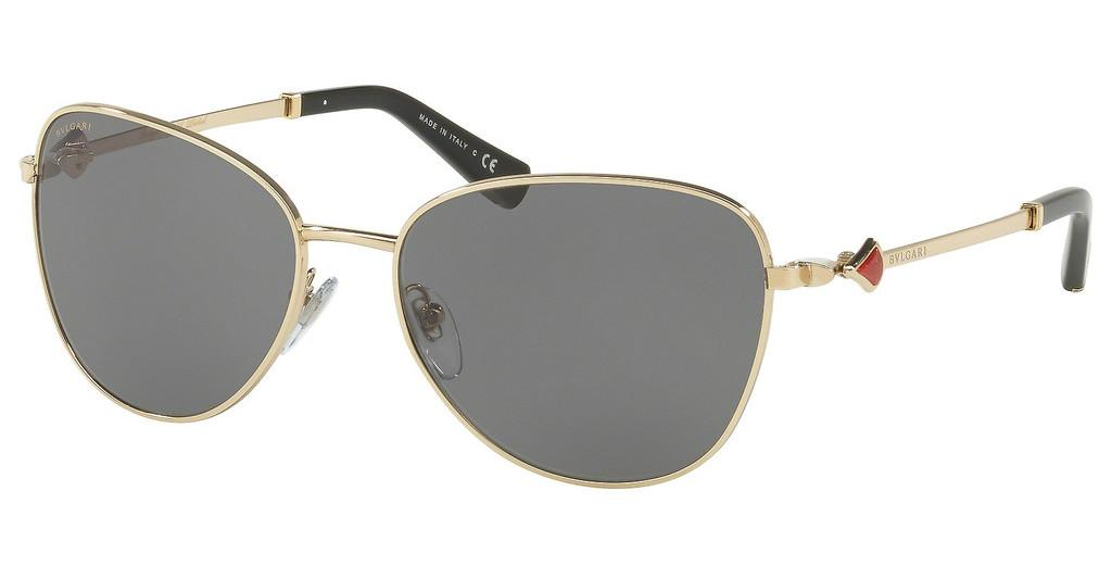 Bvlgari   BV6097KB 204281 POLAR GREYPALE GOLD PLATED