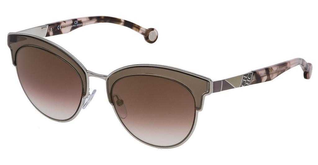 Carolina Herrera   SHE101 0523 BROWN GRADIENT MIRROR GRAD.GOLDPALLADIO LUCIDO