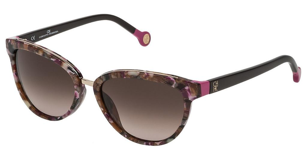 Carolina Herrera   SHE688 01GT BROWN GRADIENT PINKAVANA ROSA/FUCSIA