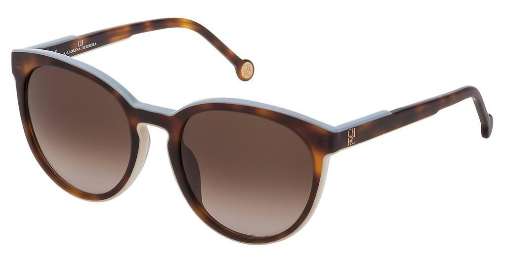 Carolina Herrera   SHE793 0T66 BROWN GRADIENTAVANA+AZZURRO