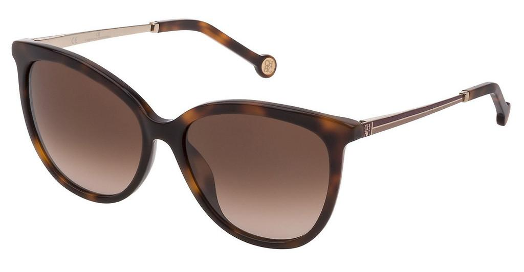 Carolina Herrera   SHE798 01AY BROWN GRADIENTAVANA SCURA LUCIDO