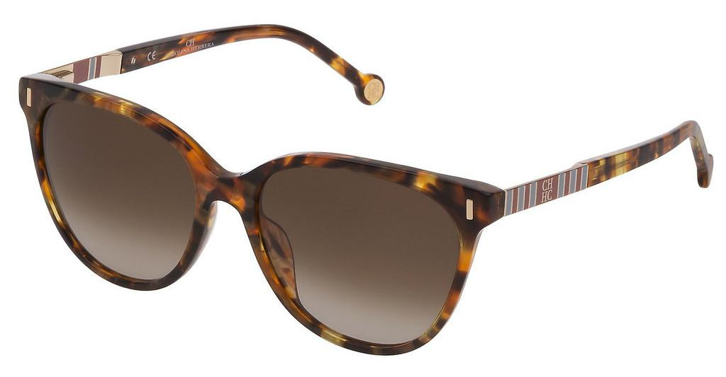 Carolina Herrera   SHE829 0777 BROWN GRADIENTAVANA MARRONE/MIELE