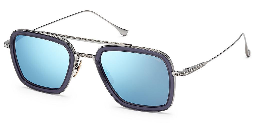 DITA   7806 A Dark Grey -Blue Mirror -ARSmoke Grey Crystal - Black Palladium