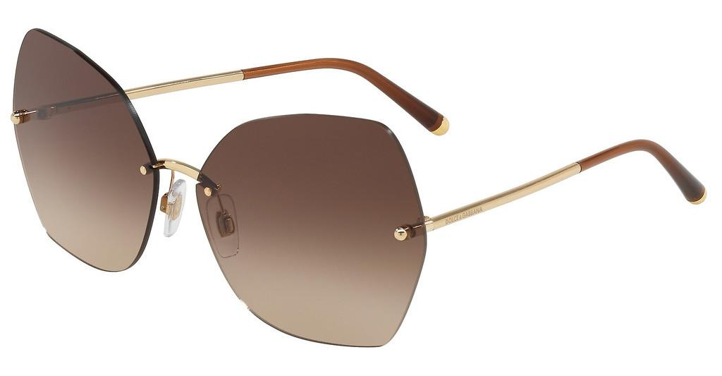 Dolce & Gabbana   DG2204 02/13 DARK/LIGHT BROWN GRADIENTGOLD