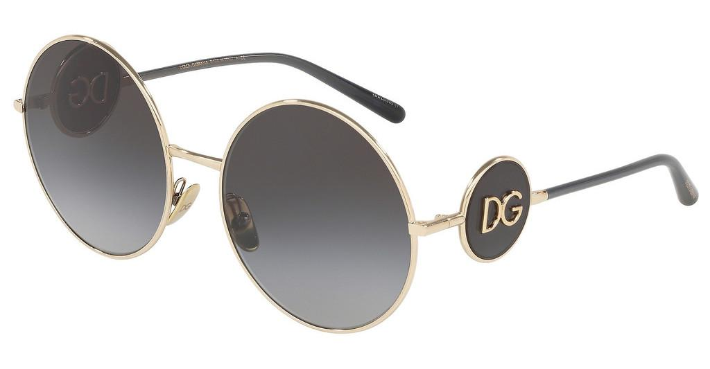 Dolce & Gabbana   DG2205 488/8G DARK/LIGHT BROWN GRADIENTPALE GOLD