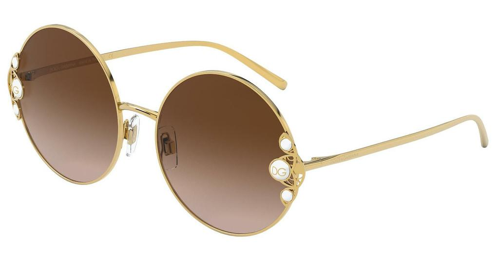 Dolce & Gabbana   DG2252H 02/13 BROWN GRADIENT DARK BROWNGOLD