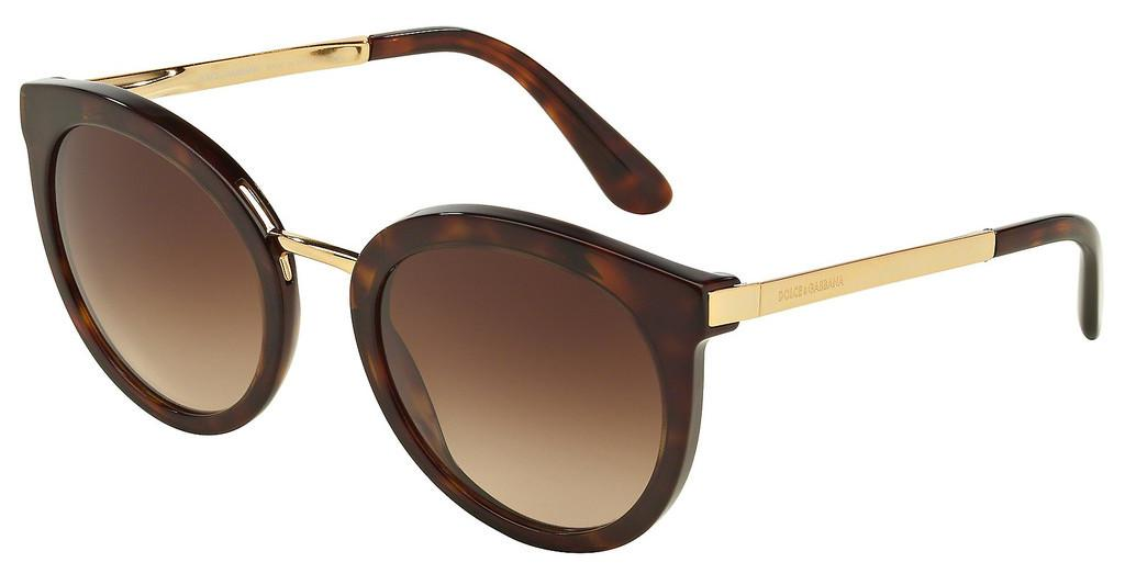 Dolce & Gabbana   DG4268 502/13 LIGHT & DARK BROWN GRADIENTHAVANA