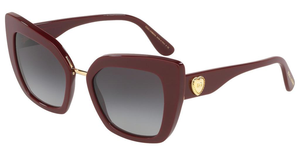 Dolce & Gabbana   DG4359 30918G LIGHT GREY GRADIENT BLACKBORDEAUX