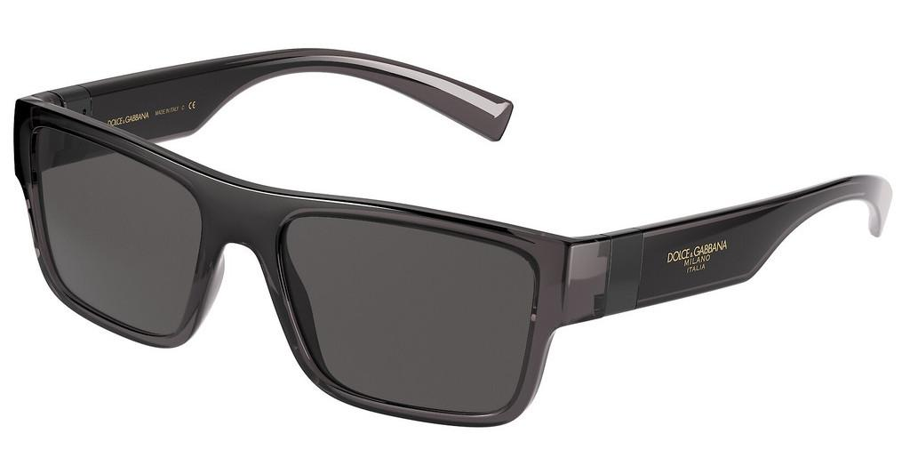 Dolce & Gabbana   DG6149 325787 DARK GREYTRANSPARENT GREY/BLACK