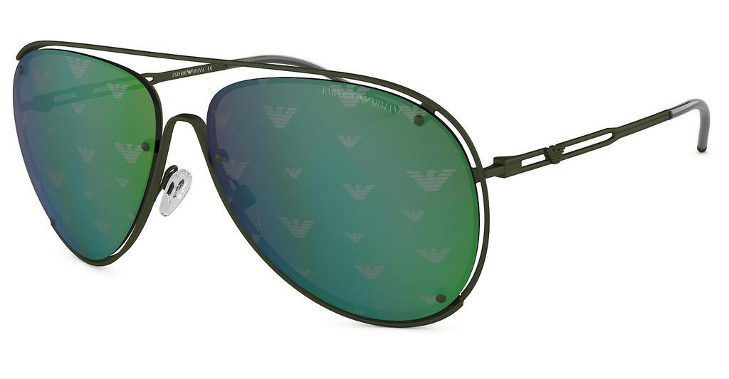 Emporio Armani   EA2073 32586R GREEN TAMP EAGLE SILVER /GREENMATTE MILITARY GREEN
