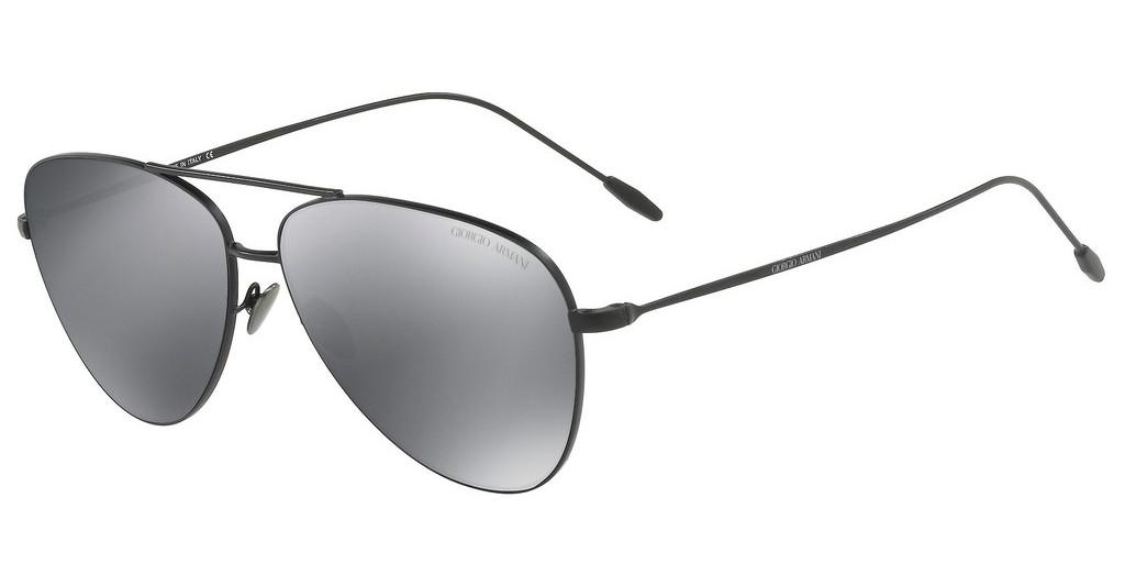 Giorgio Armani   AR6049 30016G LIGHT GREY MIRROR BLACKMATTE BLACK