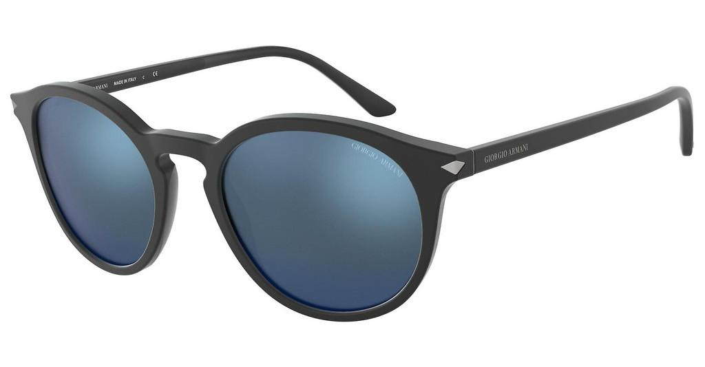 Giorgio Armani   AR8122 504255 DARK BLUE MIRROR BLUEMATTE BLACK