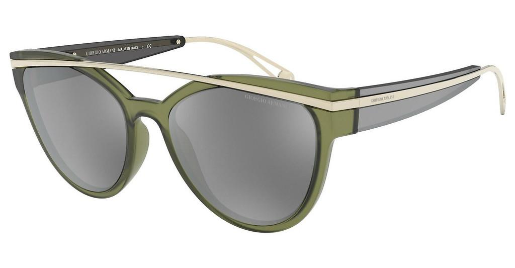 Giorgio Armani   AR8124 57816G LIGHT GREY MIRROR SILVERGREEN
