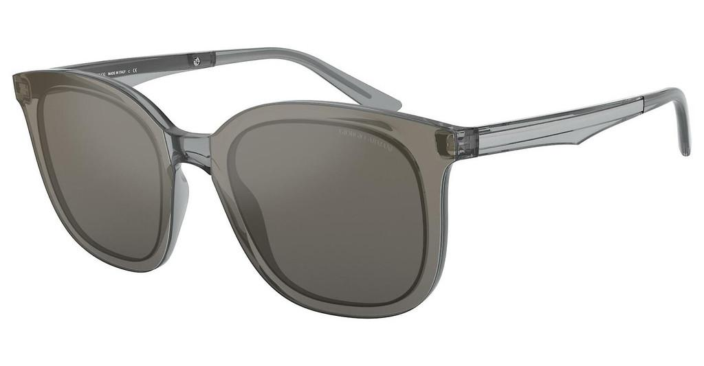 Giorgio Armani   AR8136 58226V GREY MIRROR GRADIENT SILVERTRANSPARENT GREY