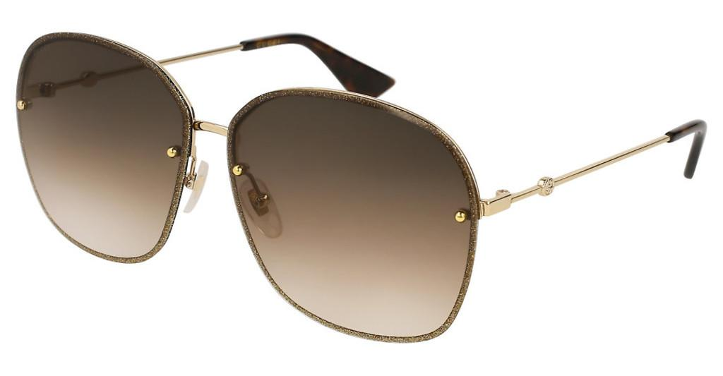 Gucci   GG0228S 003 BROWNGOLD