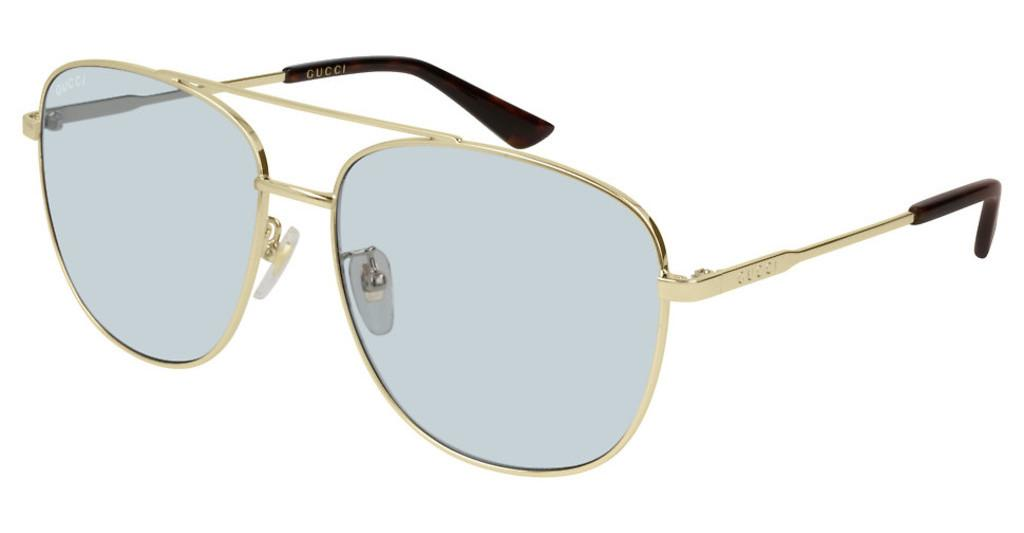 Gucci   GG0410SK 005 LIGHT BLUEGOLD
