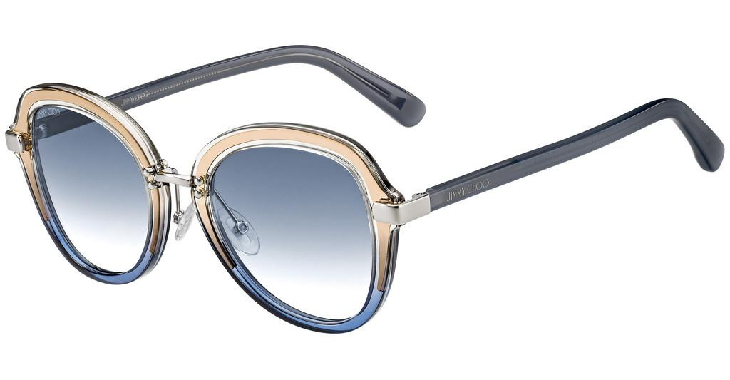 Jimmy Choo DREE/S 2F7/08 ORGA B.6GOLD GREY