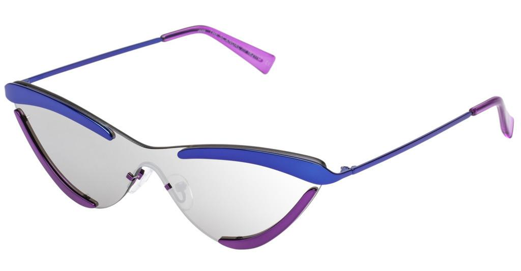 Le Specs THE SCANDAL LAS1821117 SILVER MIRRORPURPLE