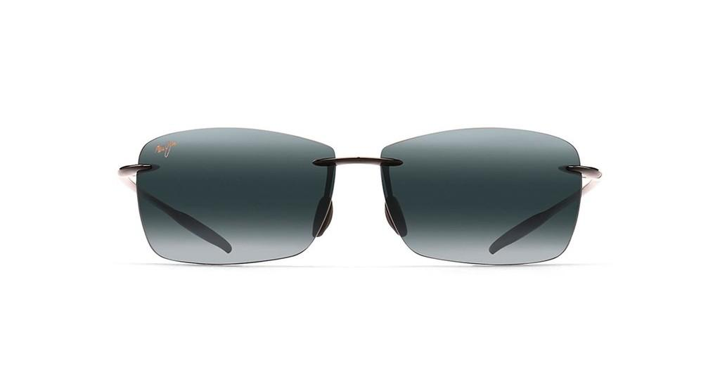 Maui Jim   Lighthouse Readers 423-0225 Neutral Grey Sphere 2.5Gloss Black